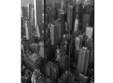 Paraván - New York: skyscrapers (bird's eye view) [Room Dividers]